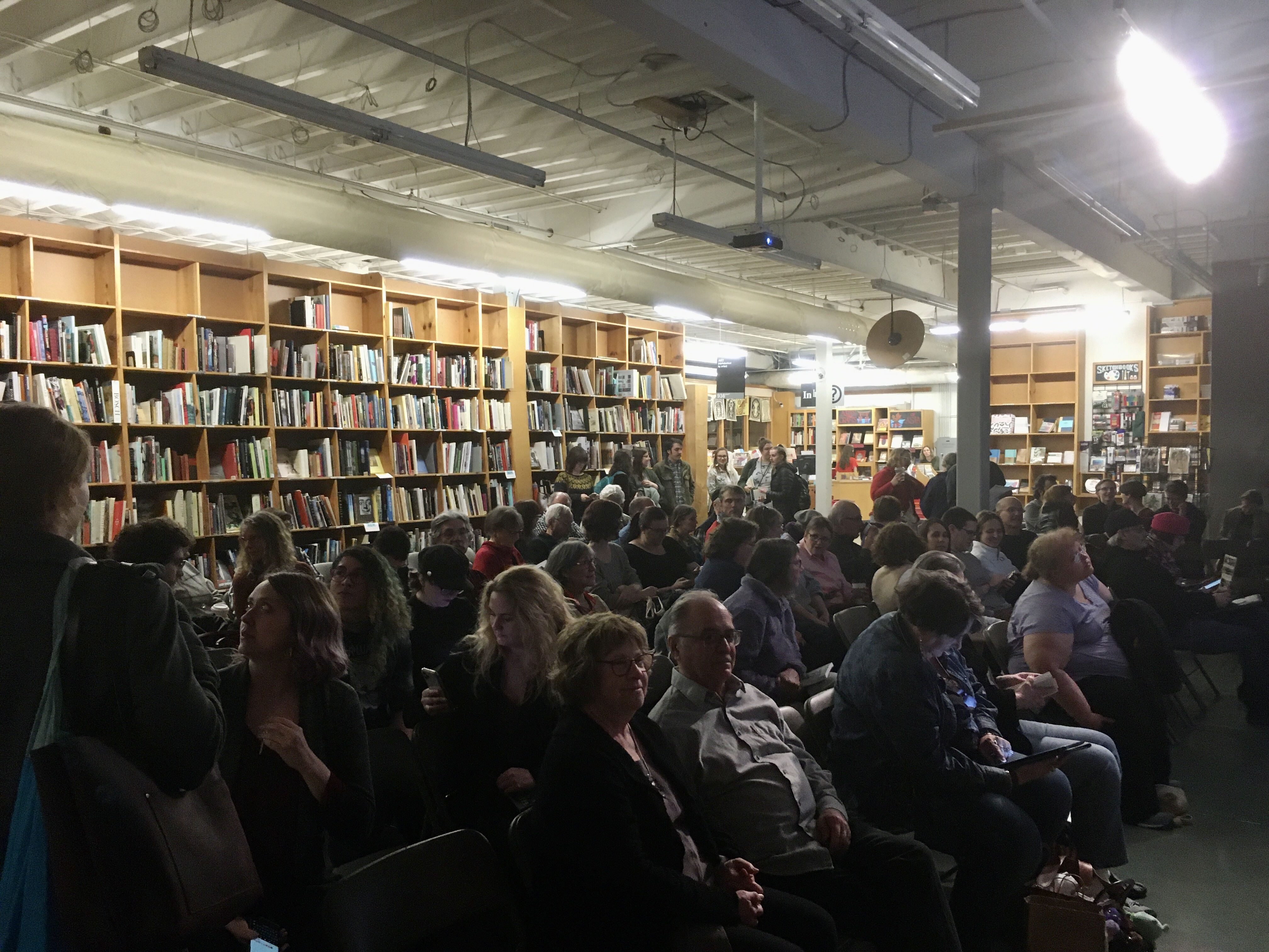 Powells - 130 strong