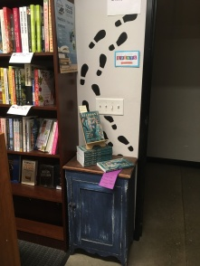 Roundabout book display