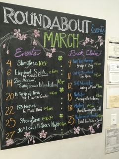 Roundabout Events Board